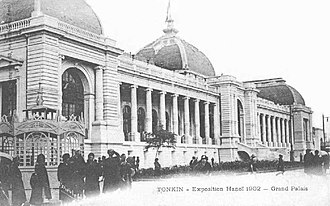 Hanoi - Grand Palais was built for the Hanoi Exhibition, as the city became the capital of French Indochina