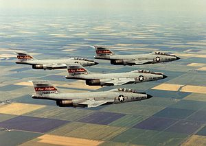 119th Wing - F-101B Voodoos in the 1970s.