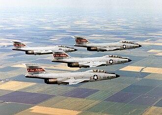 119th Wing - F-101B Voodoos in the 1970s.