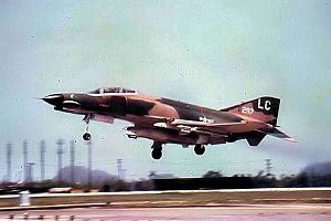 Pacific Air Forces - F-4E of the 421st Tactical Fighter Squadron, Da Nang Air Base