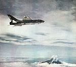 F-8E Crusader of VF-51 in flight in 1964.jpg