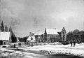 F.M.E. Fabritius de Tengnagel - Prospekt af hovedgården Lykkesholm på Fyn. Vinter - KMS238 - Statens Museum for Kunst.jpg