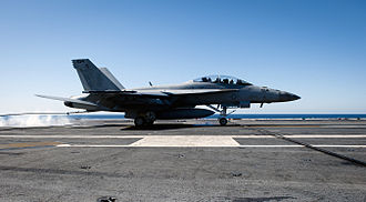 """Carrier Air Wing Seventeen - A VFA-22 F/A-18F Super Hornet displaying the new tail code """"NA"""" in February 2013."""
