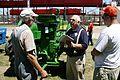FEMA - 37104 - FEMA Community Relations worker at a county fair in Iowa.jpg