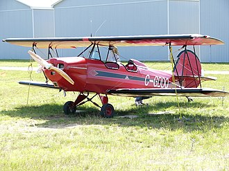 Fisher Flying Products - Fisher Celebrity biplane