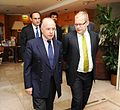 FM Urmas Paet met with French Minister of European Affairs Bernard Cazeneuve. 15.09.2012 (7988111585).jpg