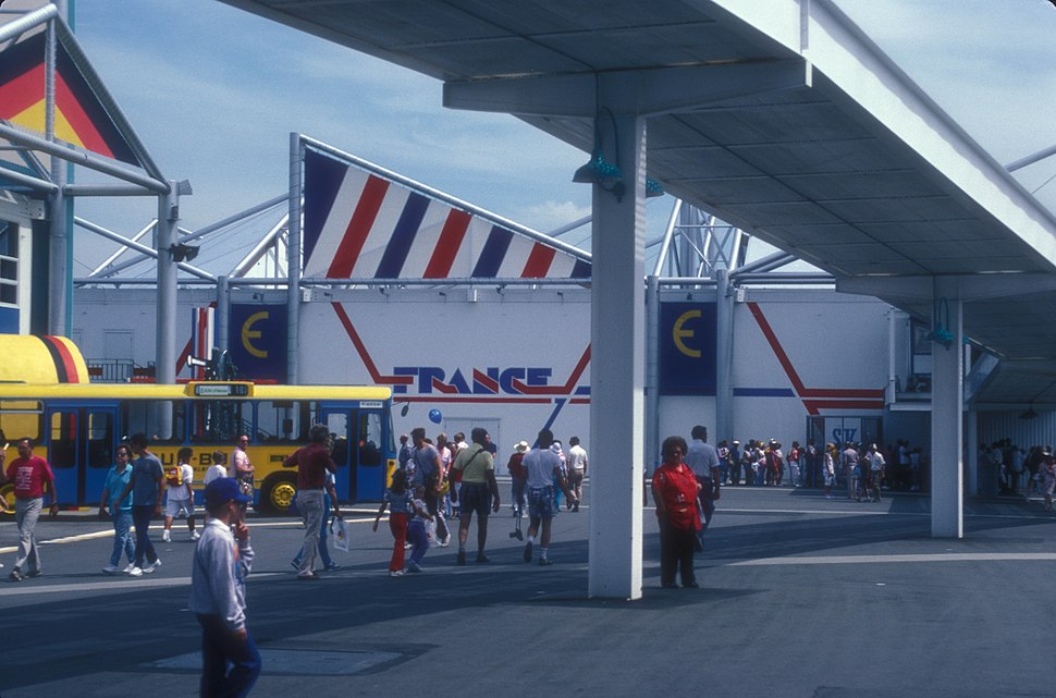 FRENCH PAVILION AT EXPO 86, VANCOUVER, B.C.