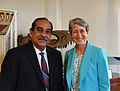 FSM President Peter M. Christian and US Interior Secretary Sally Jewell.jpg