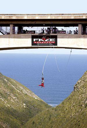 Bloukrans Bridge Bungy - Face Adrenalin Bloukrans Bridge Bungy Jump