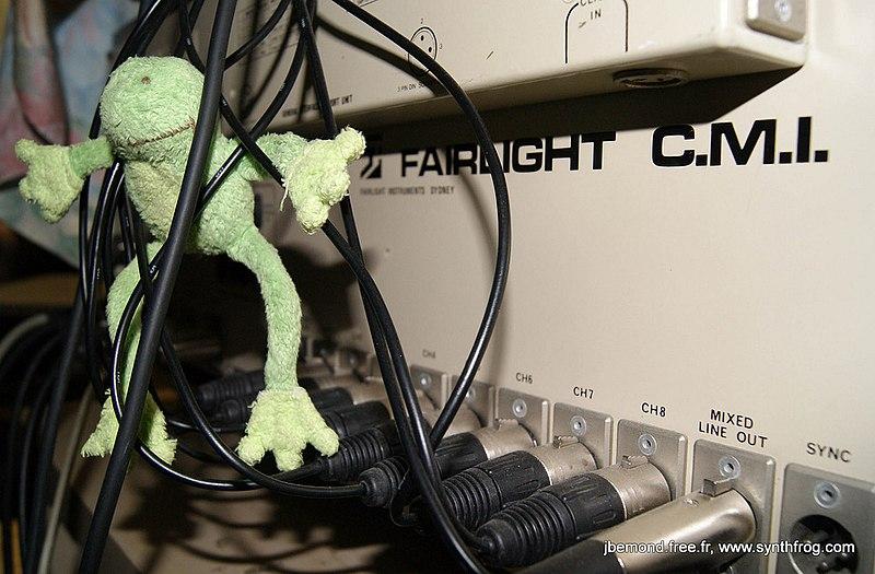 File:Fairlight CMI rear connectors.jpg