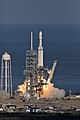 Falcon Heavy clearing the tower 11.jpg