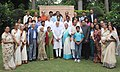 Family members of Netaji Subhas Chandra Bose call on Prime Minister Narendra Modi.jpg