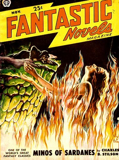 Fantastic Novels cover November 1949