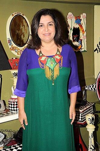 Farah Khan - Image: Farah Khan at the opening of Fluke store 11