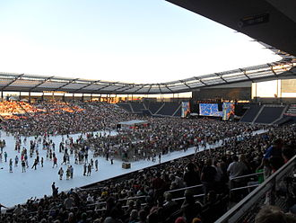 Children's Mercy Park - Dave Matthews and Tim Reynolds performed at Farm Aid at Sporting Park on August 13, 2011.