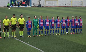 Fatih Vatan Spor - Fatih Vatan Spor squad at away match against Ataşehir Belediyespor in the 2017–18 season.
