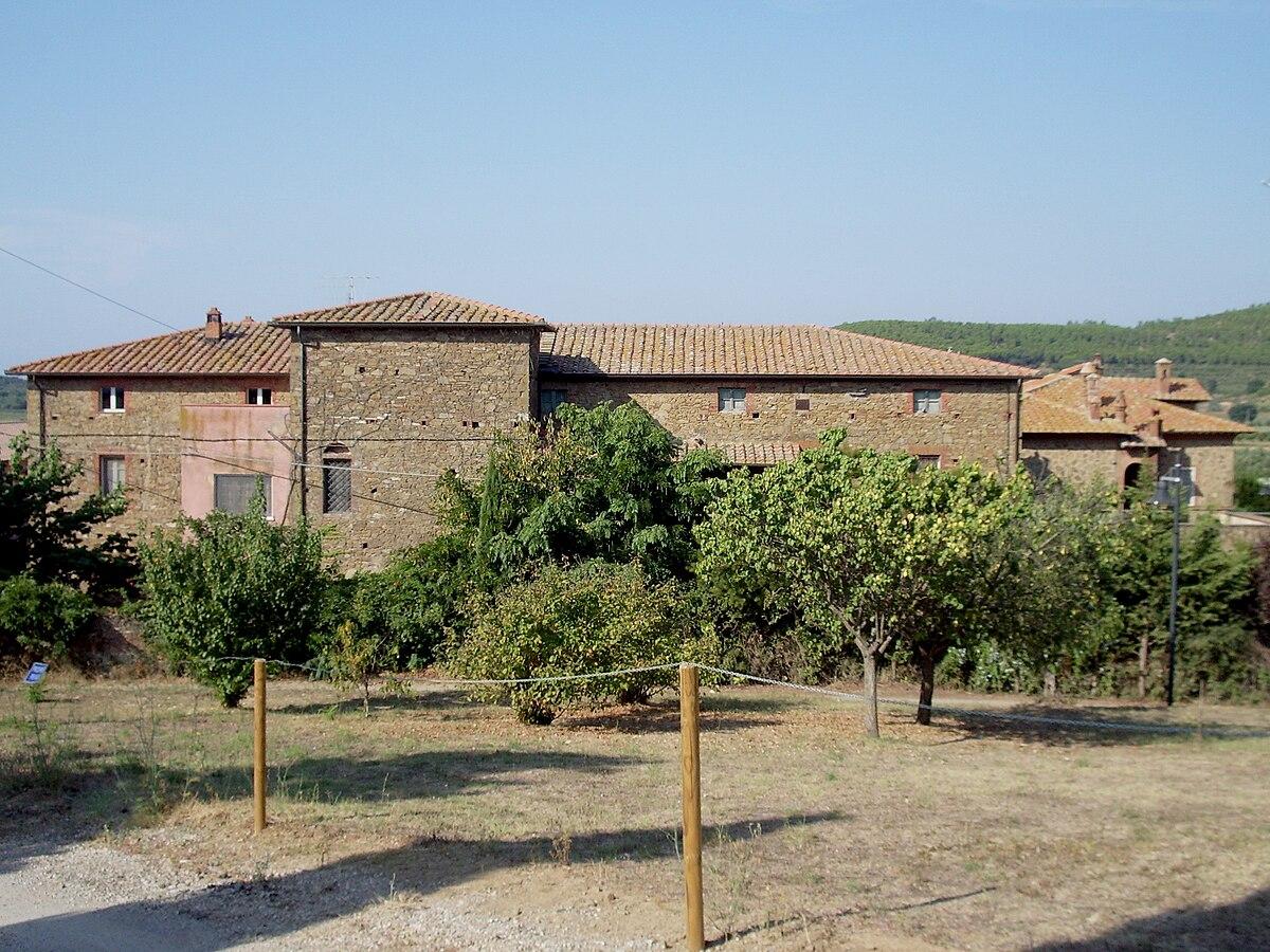 Pian di rocca wikipedia for Planimetrie rustiche della fattoria