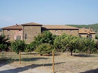 Pian di Rocca Frazione in Tuscany, Italy