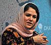 Fawzia Koofi MP, Afganistán - Chatham House 2012.jpg