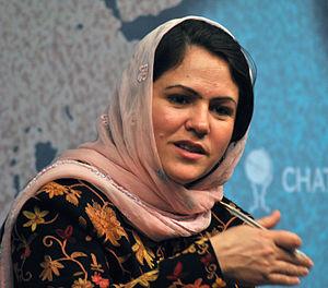 Fawzia Koofi - Koofi speaking at Chatham House in 2012