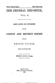 Federal Reporter, 1st Series, Volume 3.djvu