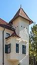 Feistritz im Rosental Weizelsdorf 1 Schloss Ebenau SW-Turm mit Erker 30092018 4810.jpg