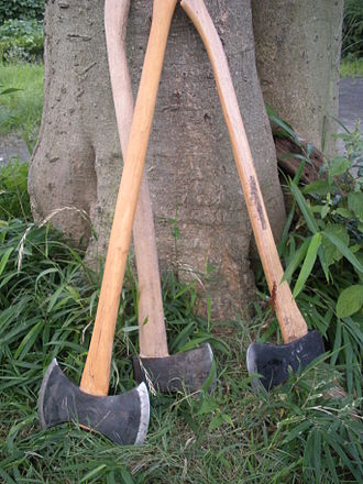 Axe - Double- and single-bit felling axes