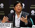 Ferdinand Marcos Jr. during a Kapihan sa Senado forum.jpg