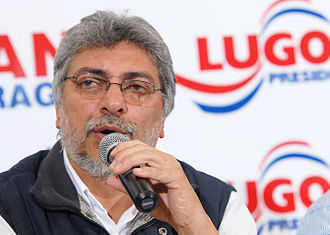 2013 Paraguayan general election - Former President Lugo, impeached in June 2012