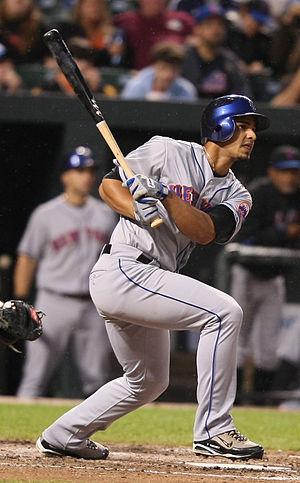 Fernando Martínez (baseball) - Martinez with the Mets in 2009