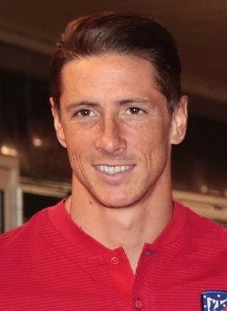 Fernando Torres - Torres with Atlético Madrid in 2017