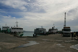Santa Fe, Cebu - Image: Ferry pier, Santa Fe