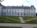 Festetics Palace main building south wing and extension in Keszthely, 2016 Hungary.jpg