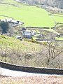 Ffermdy Gwastadannas Farmhouse from above the A498 - geograph.org.uk - 398324.jpg