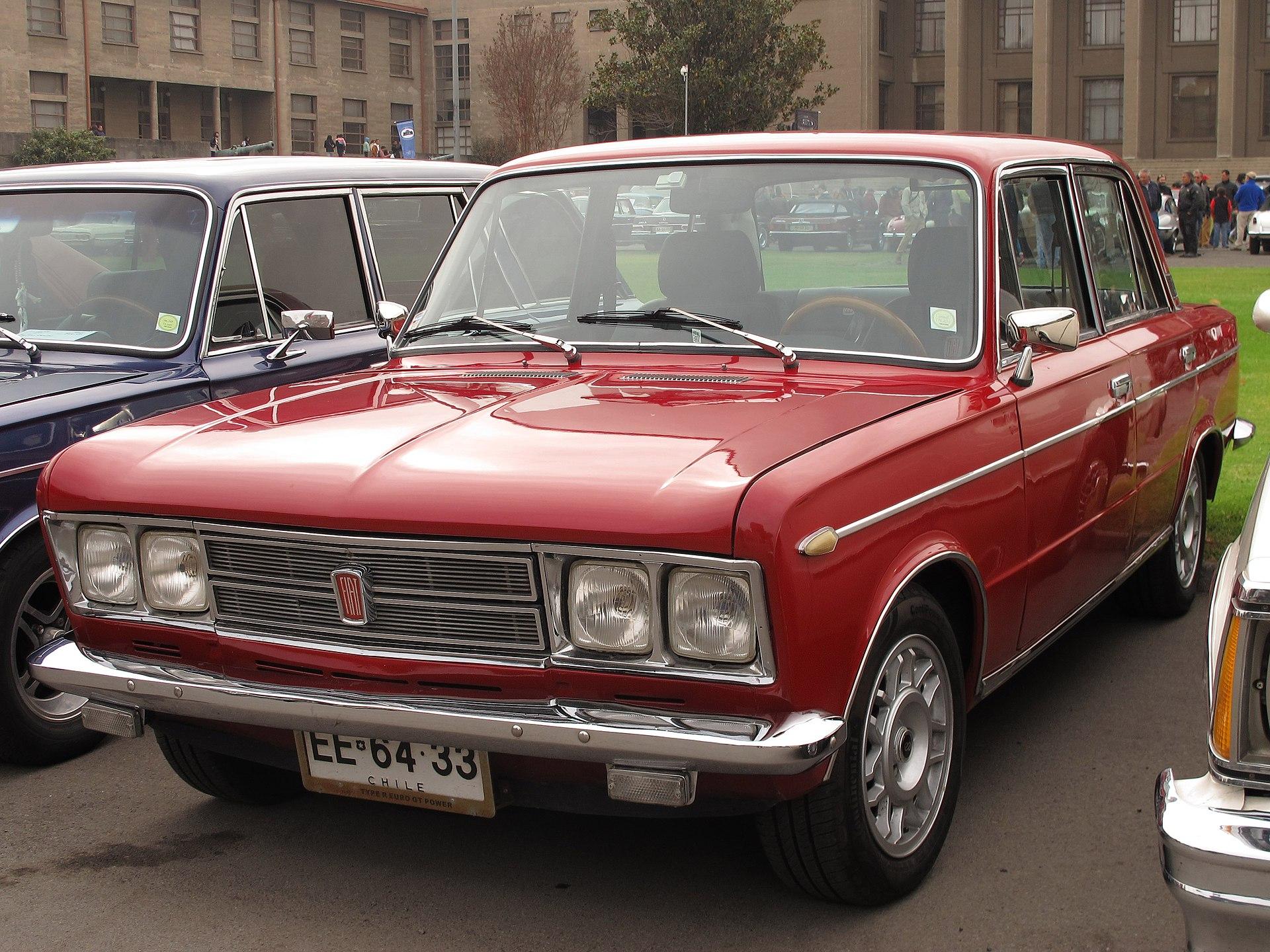 1973 Fiat 1300 Engine