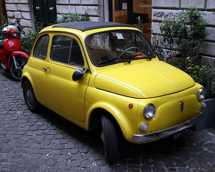 File:Fiat 500 jaune.jpg