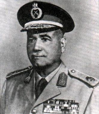 Ahmad Ismail Ali - Image: Field Marshal Ahmed Ismail Ali