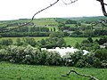Fields and polytunnels below Hambeer Lane, Exeter - geograph.org.uk - 1320351.jpg