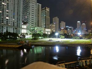 Brickell City Centre - Image: Fifth to Eighth street before Brickell City Centre