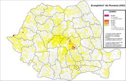 File-Evanghelici (lutherani la nord de Carpati si alte confesiuni la sud de Carpati) in Romania (2002).png