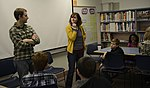 Filmmakers speak at Orion Elementary School 130501-F-WV722-035.jpg