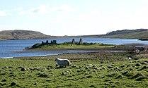 Finlaggan - Eilean Mór from the north 20120411.jpg