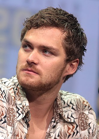Finn Jones - Jones at the 2017 San Diego Comic-Con