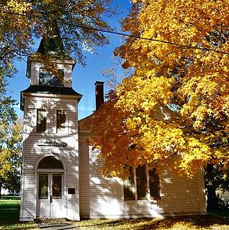 National Register of Historic Places listings in Chariton County, Missouri - Image: First Presbyterian Church (Keytesville Missouri)112D78E2 56BA 4E5E 884C FCA54E4BAB56