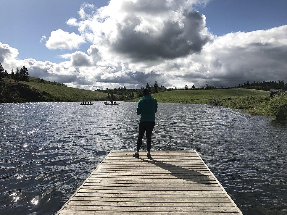 Fishing Edith Lake