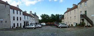 Newhaven, Edinburgh - Fishmarket Square, Newhaven