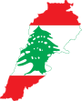Flag-map of Lebanon.svg
