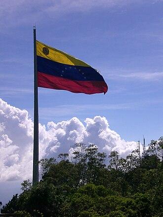 El Ávila National Park - Image: Flag of Venezuela, Cerro El Ávila