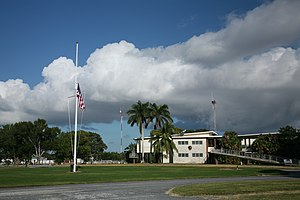 Flamingo ranger station in Everglades National...