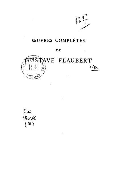 File:Flaubert - Théâtre éd. Conard.djvu